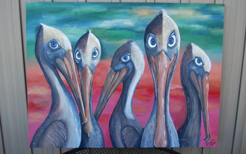 Lisa Reed Painting