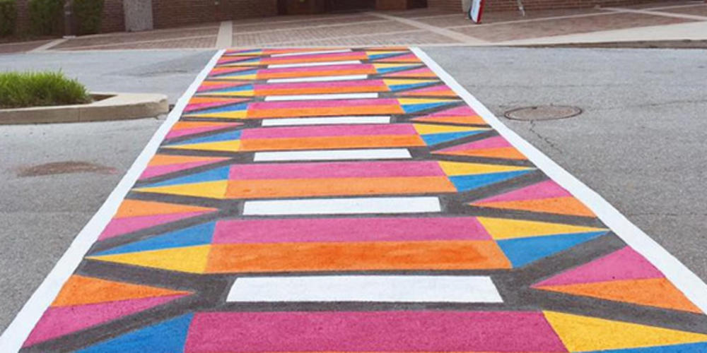 Amplify Art! Crosswalk Mural