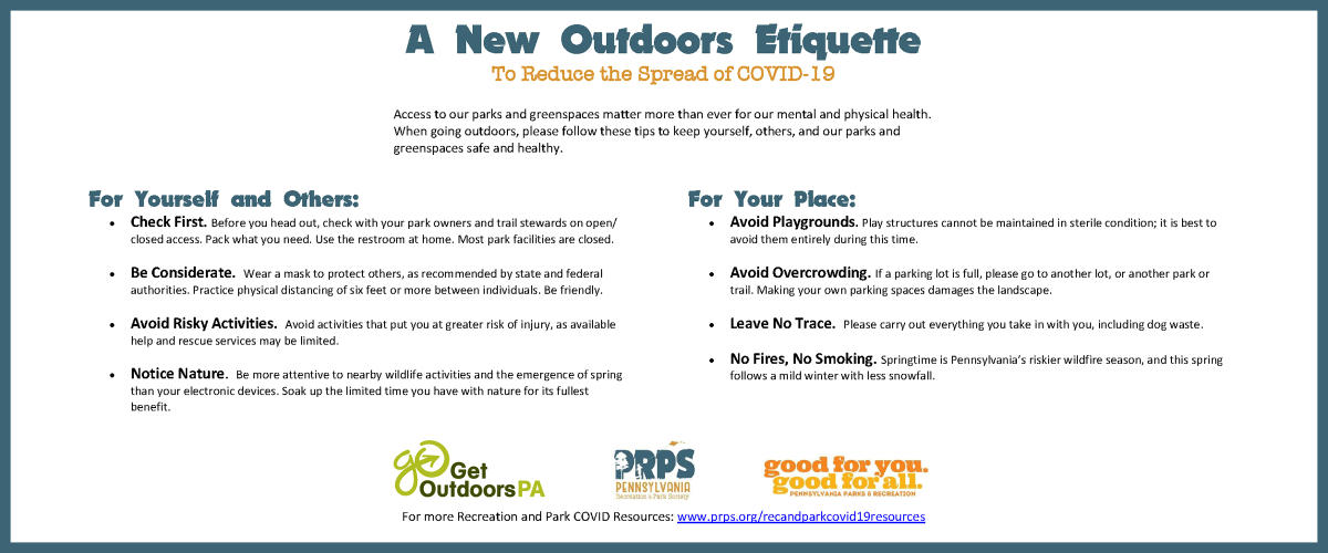 A New Outdoors Etiquette Horizontal