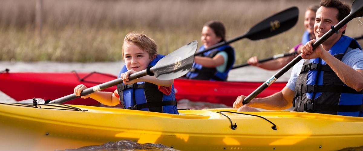 Copy of Family Kayaking