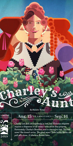 Charley's Aunt at Hale Center Theater Orem