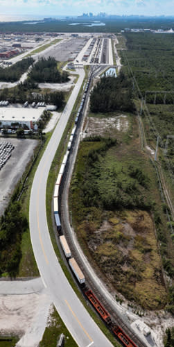 Image of an aerial view of the International Container Transfer Facility