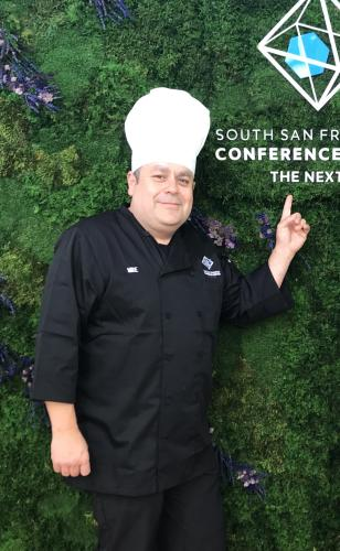 Chef Mikey Ramirez at SSF Conference Center