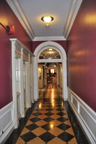 Gideon Putnam Hallway and Tiled Floor