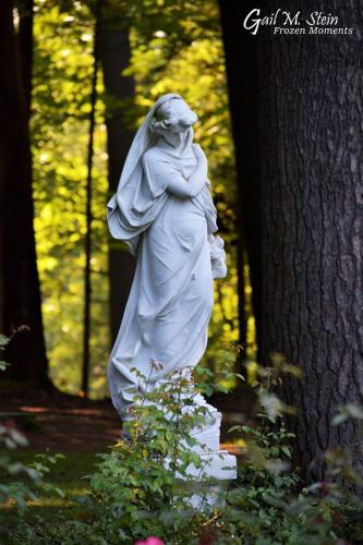 Statue at Yaddo