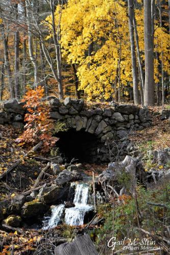 Stone bridge at Yaddo