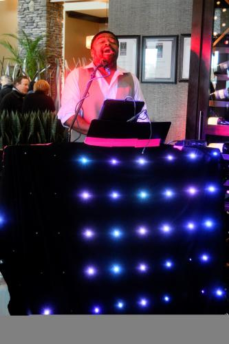 Garland at the Diamond Club