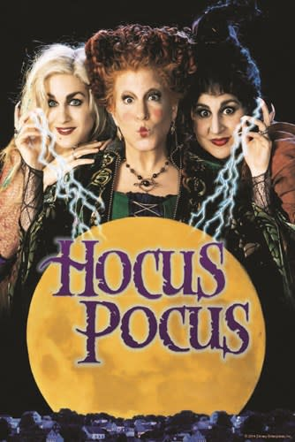 Irvine Spectrum Center Lawn will show the movie Hocus Pocus at 7 pm on October 12, 2019