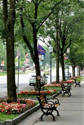 Benches on Broadway