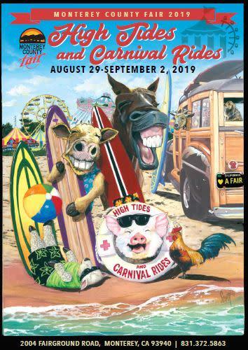 Monterey County Fair poster