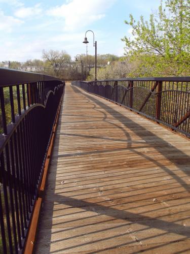 Boyd Park Bridge in Eau Claire, Wisconsin