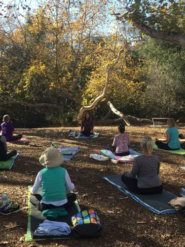 Bommer Canyon Yoga Class