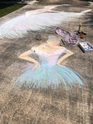 chalk your walk