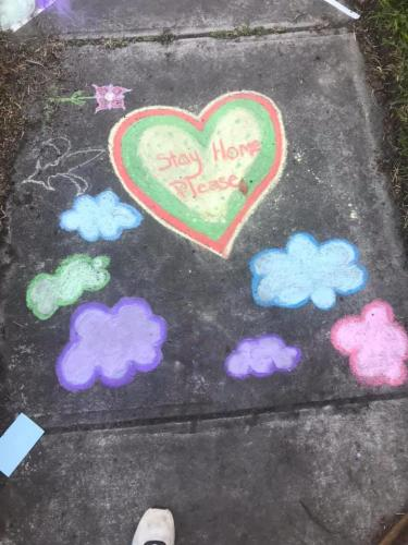 chalk your walk