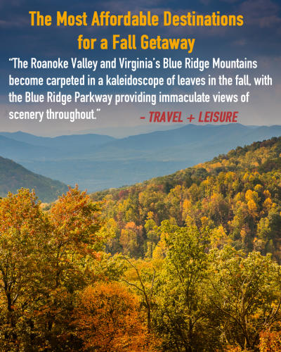 Roanoke - Fall Getaway - Travel + Leisure