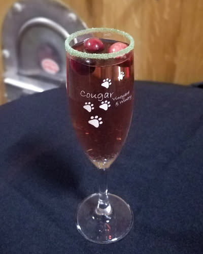 White Wine Cranberry Spritzer