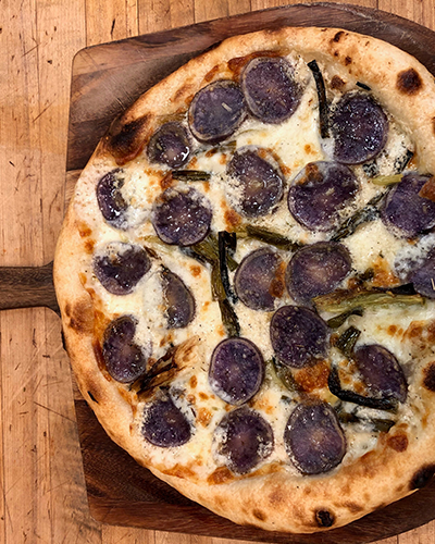 Goat and Vine Pizza