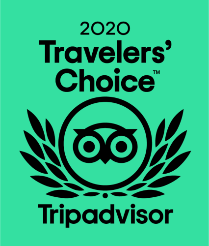 2020 Tripadvisor Travelers' Choice Award_Visitors Center