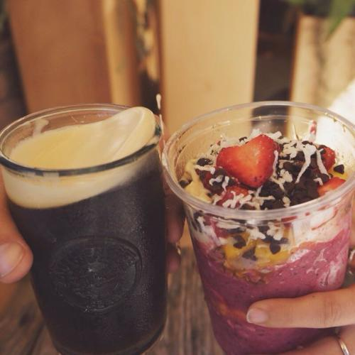 Bowl of Heaven serves Acai Bowls, Smoothies and Juices inside the AoSA shop