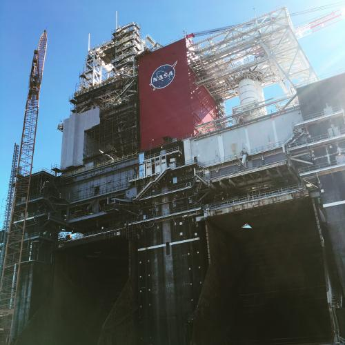 Test stand at NASA's Stennis Space Center