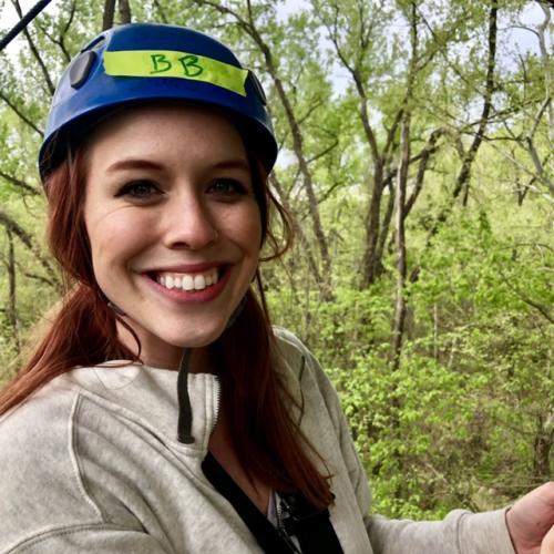 Rebekah Baughman Zip Lining