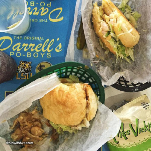 Darrell's Special po'boy
