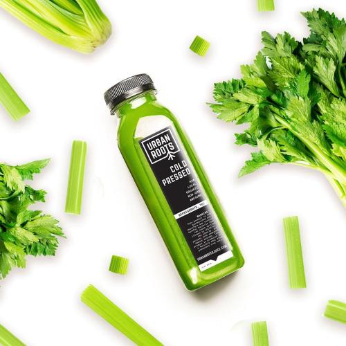 Urban Roots cold pressed green juice