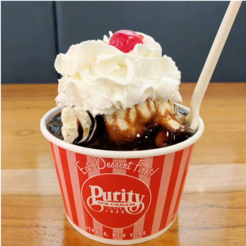 Purity Ice Cream Sundae