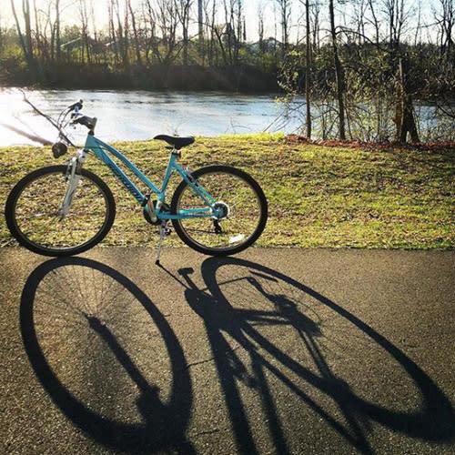 Bike in Shoaff Park