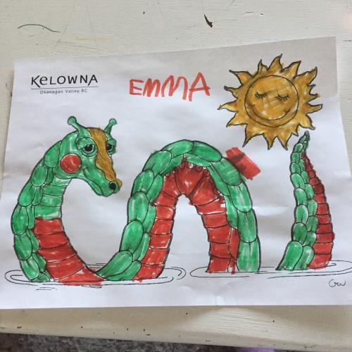 Ogopogo Contest Emma 5yr