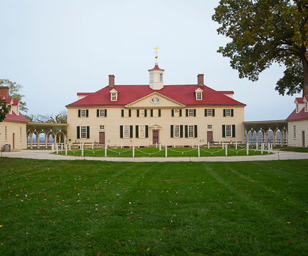 Mount Vernon mansion - south county page