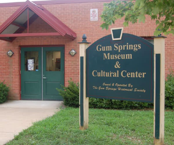 Gum Springs Museum and Historical Society - south county page