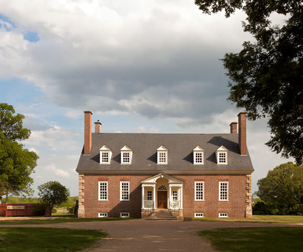 Gunston Hall mansion - south county page