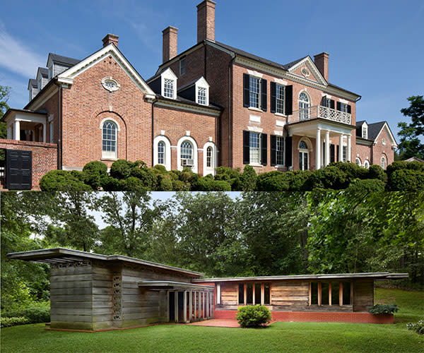 Woodlawn Estate and Pope-Leighey House - south county page