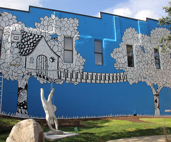 Kelsey Montague mural