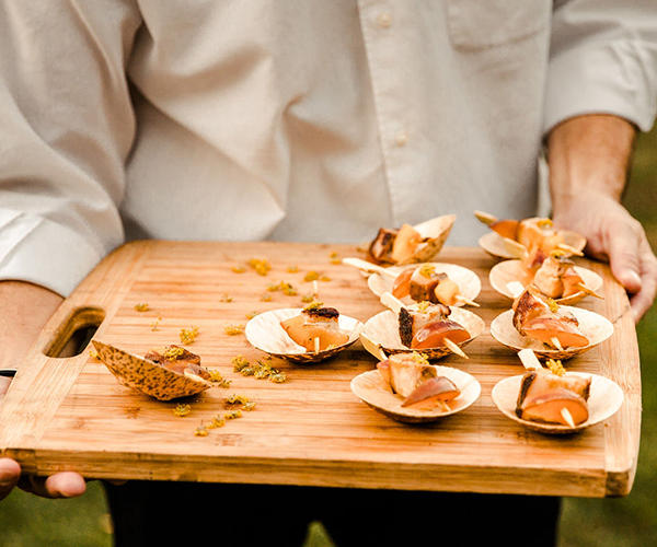 Catering in Temecula Valley - Serving tray