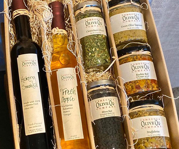 Olive Oil Company Products - Oil, tapenade, vinegar