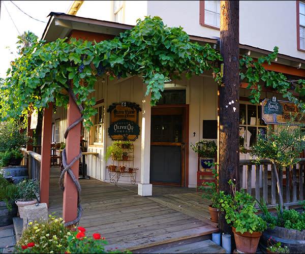 Temecula Olive Oil Storefront
