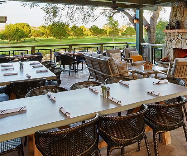 Outdoor Dining for groups at Temecula Creek Inn