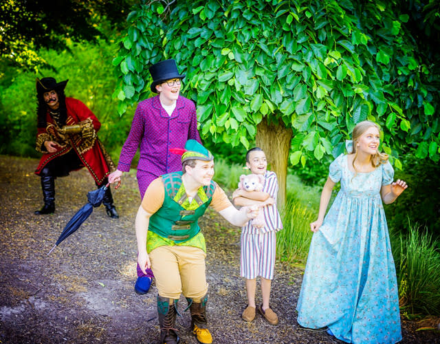 Peter Pan Will Fly High in July under the stars at SCERA Shell Outdoor Theatre