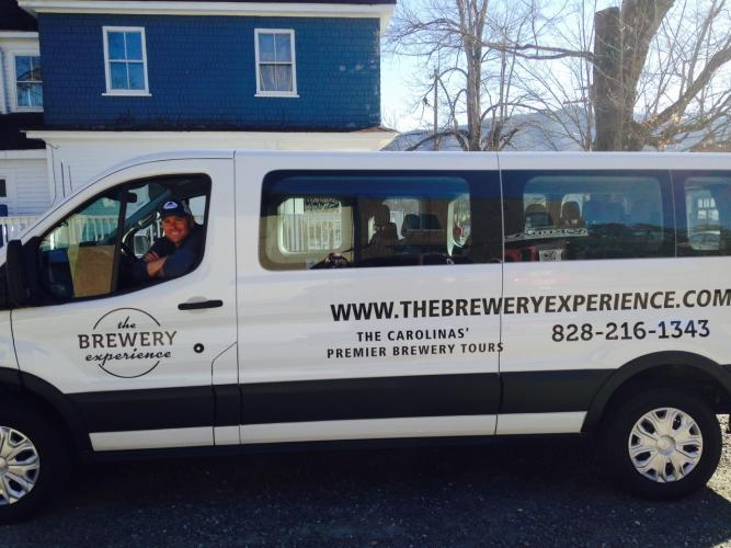 Gary Glancy, Certified Cicerone, leads driving tours to 5 different breweries in the greater Greenville area.