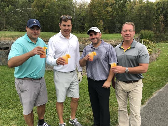 Matt D'Abate and three others with Saratoga Sunrises