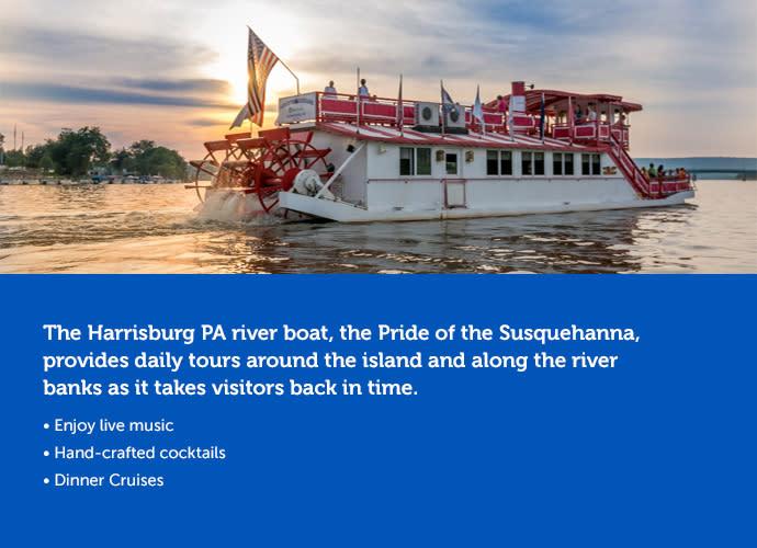susquehanna pride riverboat in hershey harrisburg