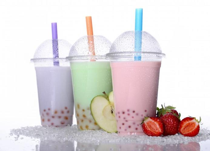 Plum Dandy bubble teas