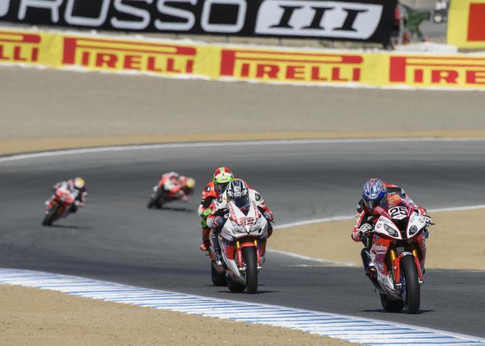 World Superbike Championship at WeatherTech Raceway Laguna Seca