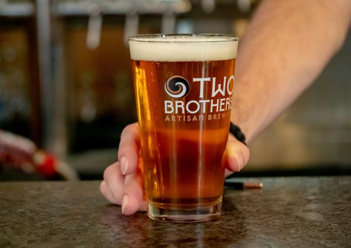 Two Brothers Draft Beer