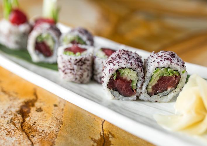 Sushi Close Up