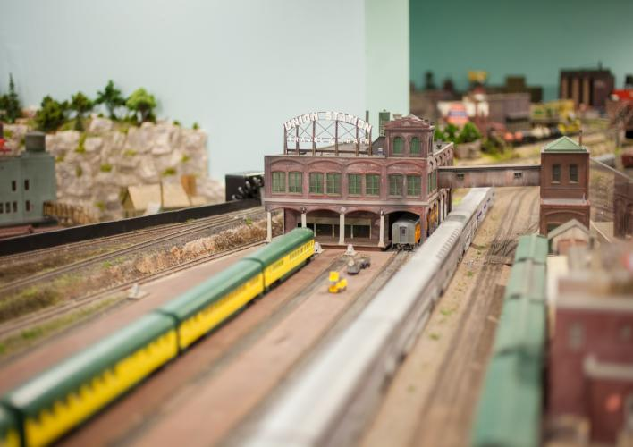 HO Gauge Model Railroad