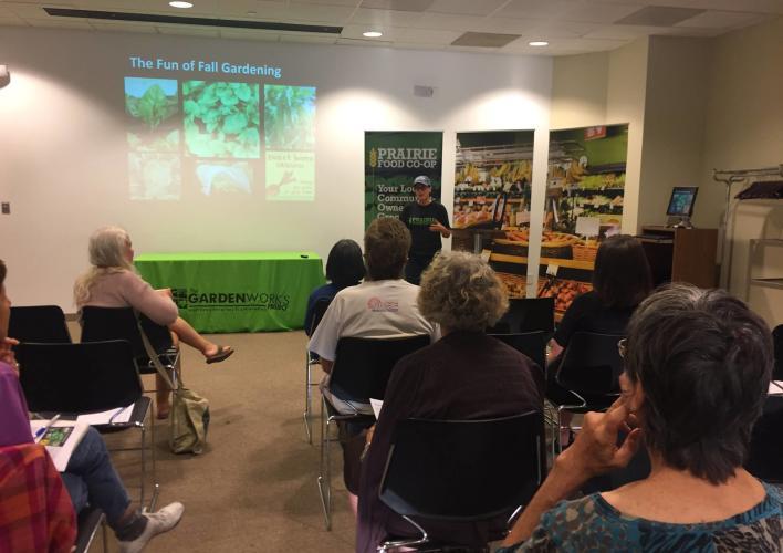 Prairie Food Co-op - Gardening Workshop