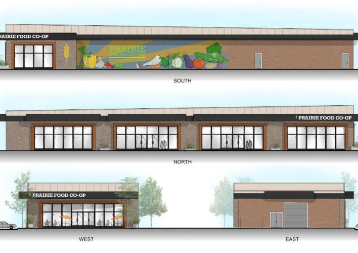 Prairie Food Co-op Building Rendering